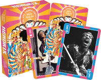Jimi Hendrix - Jim Hendrix Axis Bold As Love Playing Cards Deck