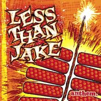 Less Than Jake - Anthem [Clear Orange LP]