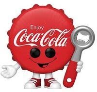 Funko Pop!: - FUNKO POP!: Coke- Coca-Cola Bottle Cap