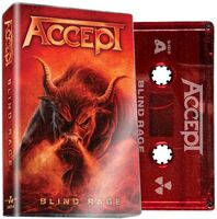 Accept - Blind Rage [Limited Edition Red Cassette]