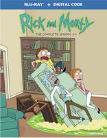 Rick And Morty [TV Series] - Rick and Morty: The Complete Seasons 1-4