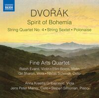 Fine Arts Quartet - Spirit of Bohemia