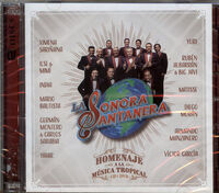 La Sonora Santanera - Homenaje A La Musica Tropical (Incl. DVD)