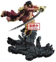 Banpresto - BanPresto - One Piece Manhood Gol.D.Roger Figure Version A