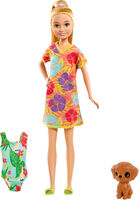 Barbie - Mattel - Barbie Chelsea The Lost Birthday Stacie and Pet