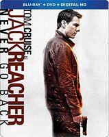 Jack Reacher: Never Go Back - Jack Reacher: Never Go Back (2pc) / (Stbk 2pk Ws)