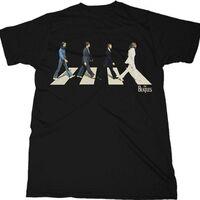 The Beatles - The Beatles Golden Slumbers Abbey Road Black Unisex Short Sleeve T-Shirt 2XL