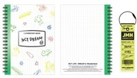 NCT Dream - NCT Life : Dream In Wonderland Commentary Book + Luggage Tag Set[Jaemin]