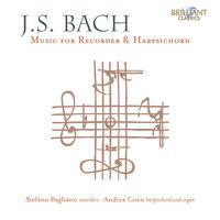 J Bach S / Bagliano / Coen - Recorder & Harpsichord