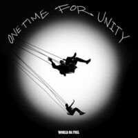 World Be Free - One Time For Unity (Black & White Swirl)