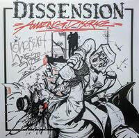 Dissension - Amazing Disgrace [Clear Vinyl] [Limited Edition]