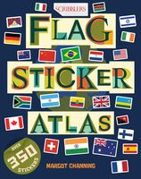 Margot Channing - Flag Sticker Atlas (Ppbk) (Stic)