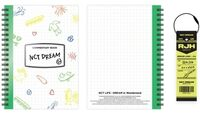 NCT Dream - NCT Life : Dream In Wonderland Commentary Book + Luggage Tag Set[Renjun]