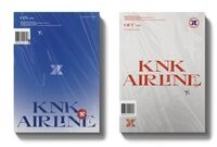 KNK - KNK Airline (Random Cover) (incll. Poster, Sticker + Photo Ticket)