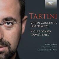 Tartini / Plotino / L'accademia Della Rosa - Violin Concertos D80 96 & 125