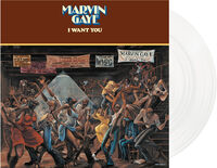 Marvin Gaye - I Want You  [Import Limited Edition White LP]