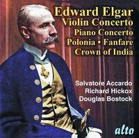 Salvatore Accardo / Lso / Hickox,Richard - Sir Edward Elgar: Violin Concerto. Piano Concerto