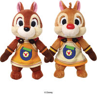 Square Enix - Square Enix - Kingdom Hearts III Chip & Dale Plush