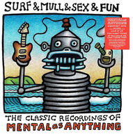 Mental As Anything - Surf & Mull & Sex & Fun [140-Gram Red & White Colored Vinyl]