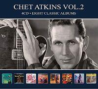 Chet Atkins - 8 Classic Albums Vol 2 [Digipak] (Ger)