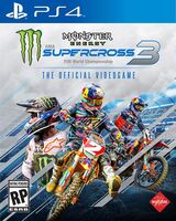 Ps4 Monster Energy Supercross Official Videogame 3 - Monster Energy Supercross - The Official Videogame 3 for PlayStation 4
