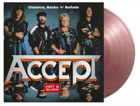 Accept - Hot & Slow: Classics Rock N Ballads [Limited 20th Anniversary EditionSilver & Red Marble Colored Vinyl]