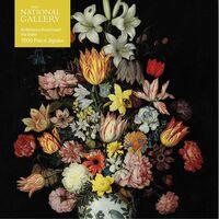 - Adult Jigsaw Puzzle National Gallery Bosschaert the Elder: A Still Life of Flowers: 1000-piece Jigsaw Puzzles
