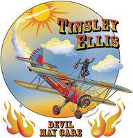 Tinsley Ellis - Devil May Care (Translucent Red) [Colored Vinyl] (Red)