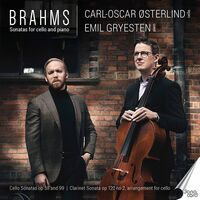 Brahms / Osterlind / Gryesten - Sonatas For Cello & Piano