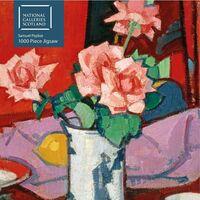 - Adult Jigsaw Puzzle National Galleries Scotland - Samuel Peploe: PinkRoses, Chinese Vase: 1000-piece Jigsaw Puzzles