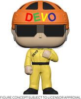 Funko Pop! Rocks: - FUNKO POP! ROCKS: Devo - Satisfaction (Yellow Suit)