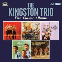 Kingston Trio - Kingston Trio / Here We Go Again / String Along