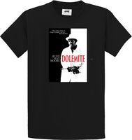 Rudy Ray Moore - Dolemite Scarface Parody Black Unisex Short Sleeve T-shirt Large