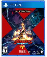 Ps4 Streets of Rage 4 - Anniversary Edition - Ps4 Streets Of Rage 4 - Anniversary Edition