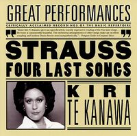 R. STRAUSS - Four Last Songs / Orchestral Songs [Remastered]