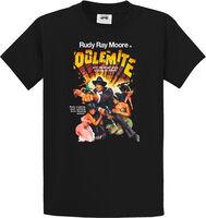 Rudy Ray Moore - Dolemite Original Poster Art Black Unisex Short Sleeve T-shirt Large
