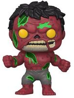 Funko Pop! Marvel: - FUNKO POP! MARVEL: Marvel Zombies- Red Hulk