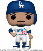 Funko Pop! MLB: - FUNKO POP! MLB: Dodgers- Mookie Betts (Home Uniform)