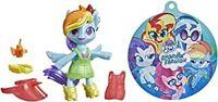 Mmlp Poppin Pony Rainbow Dash - Hasbro Collectibles - My Little Pony Poppin Pony Rainbow Dash