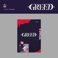 Kim Woo Seok - 1st Desire (Greed) (K Version) (incl. 88pg Photobook, Photocard,Folded Poster, Film Photo + Sticker)