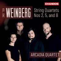 Arcadia Quartet - String Quartets 1