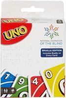 Games - Mattel Games - UNO: Braille