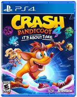 Ps4 Crash Bandicoot 4: It's About Time - Ps4 Crash Bandicoot 4: It's About Time