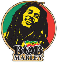 Bob Marley - Bob Marley Circular Enamel Button