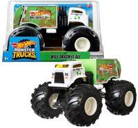 Hot Wheels Monster Truck - Hw Monster Truck 1:24 Will Trash It All (Tcar)