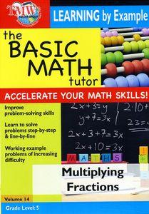 Basic Math Tutor Multiplying Fractions