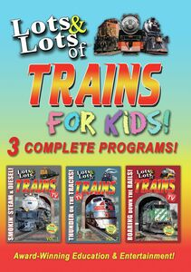Lots And Lots Of Trains For Kids