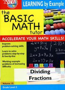 Basic Math Tutor Dividing Fractions