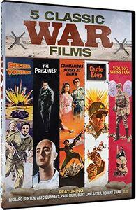 Classic War Movies: 5 Films - Young Winston /  Prisoner /  Commandos Sty