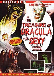 Santo in the Treasure of Dracula (The Sexy Vampire)